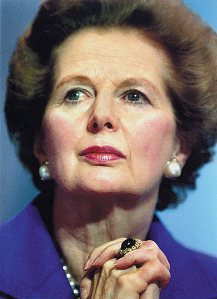 Margaret Thatcher - a greta leader?